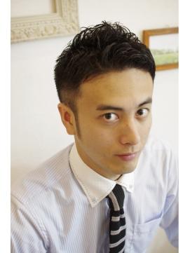 サラリーマン・髪型・夏