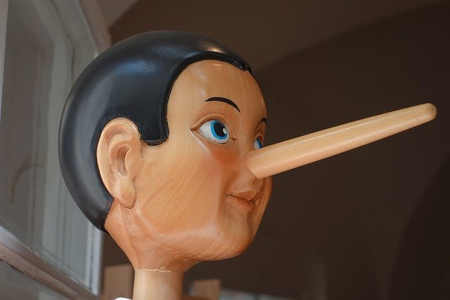 うそをつかない